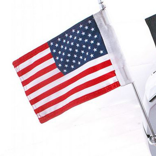United States 8x12 Inch Motorcycle Flag