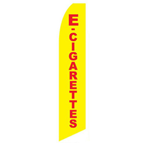 E-Cigarettes Feather Flag
