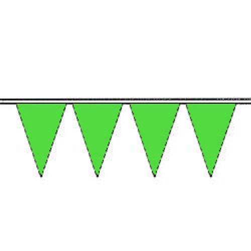 Signal Green Fluorescent Pennants