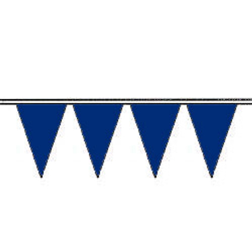 Deep Blue Fluorescent Pennants