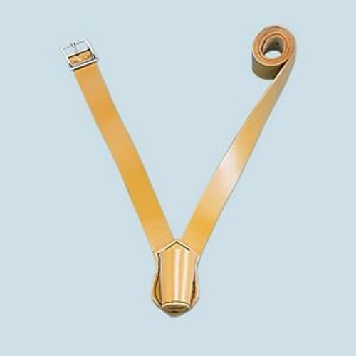 Russet Leather Single Strap Parade Carrying Belt