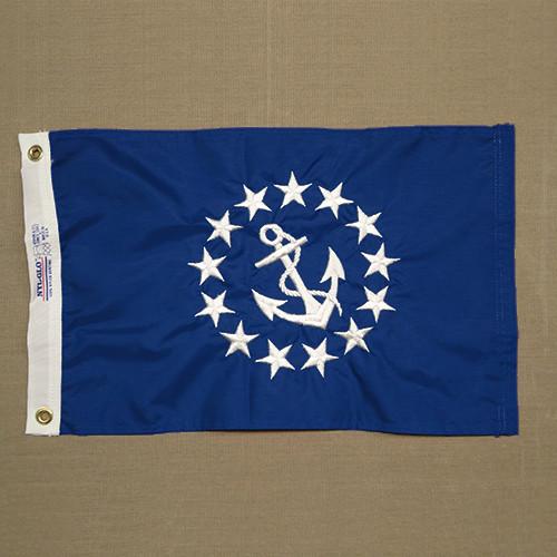 Commodore Yacht Club Flag (hand-sewn)
