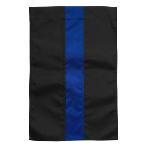Thin Blue Line Police Garden Flag