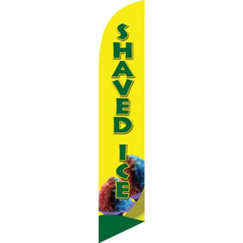 Hawaiian shaved ice sign