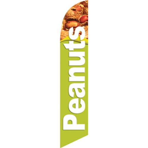 Peanuts (light green background) Semi Custom Feather Flag Kit