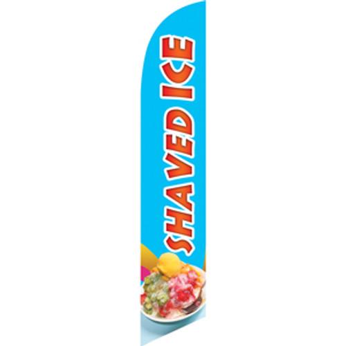 Shaved Ice (Asian-style) Semi Custom Feather Flag Kit