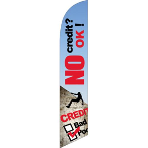 No Credit? OK! Semi Custom Feather Flag Kit