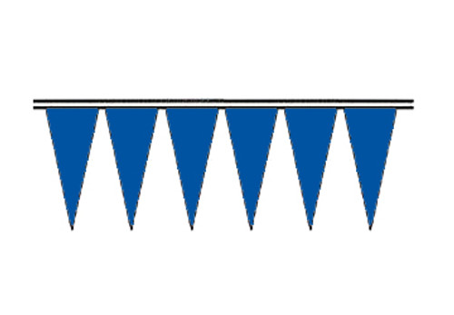 Blue Economy Icicle Pennants 4 mil