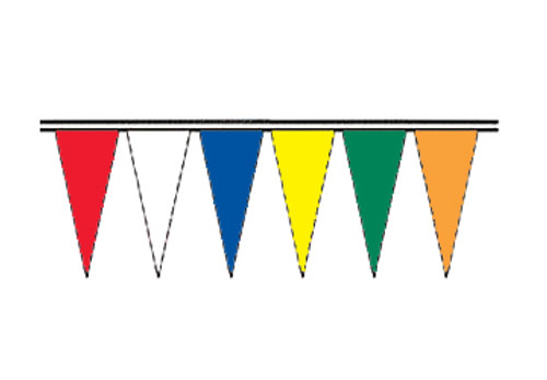 Alternating Colors Regular Icicle Pennants