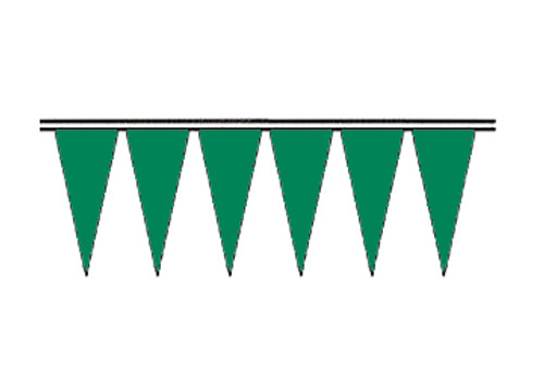 Green Regular Icicle Pennants