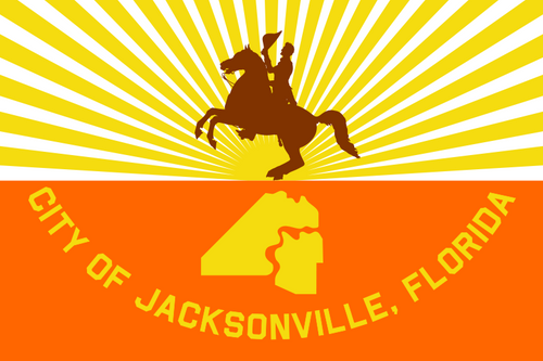 City of Jacksonville Flag