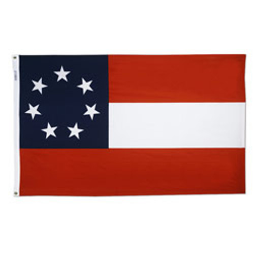 1st Confederate Flag (Stars and Bars)