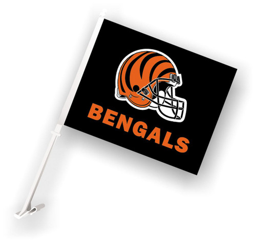 Cincinnati Bengals NFL car flag