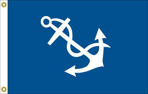 Port Captain Yacht Club Flag (hand-sewn)