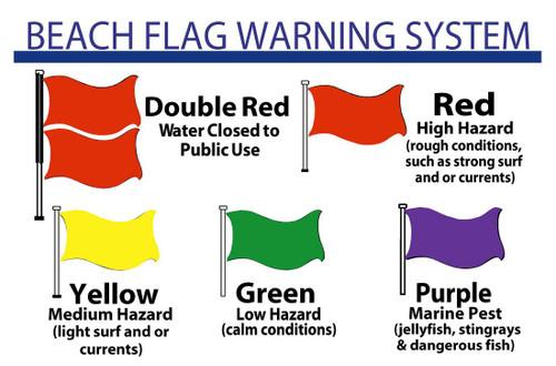 Beach Flag Warning System