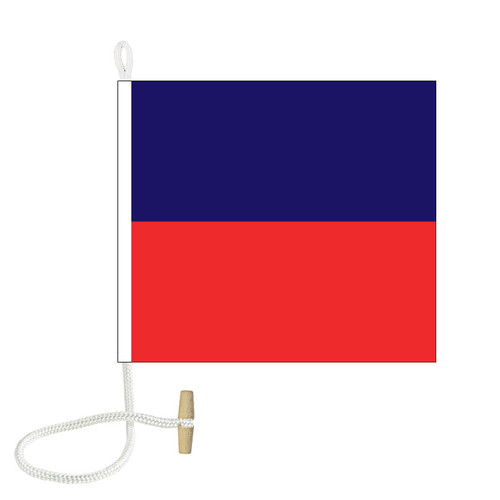 E International Code Signal Flag (Rope and Toggle)