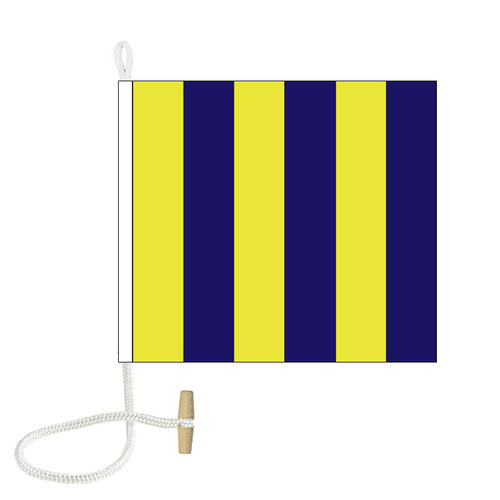 G International Code Signal Flag (Rope and Toggle)