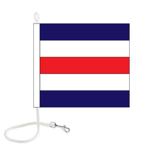 C International Code Signal Flag (Rope and Snap Hook)