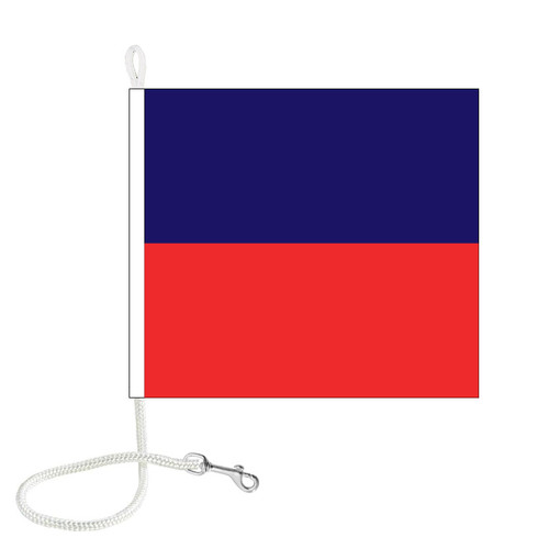 E International Code Signal Flag (Rope and Snap Hook)
