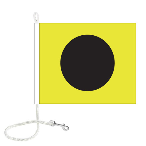 I International Code Signal Flag (Rope and Snap Hook)