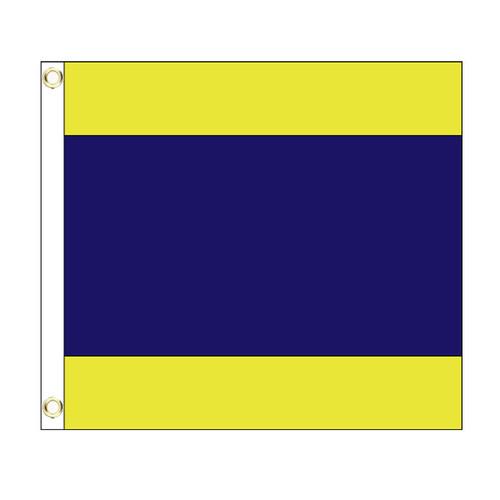 D International Code Signal Flag (Grommet)