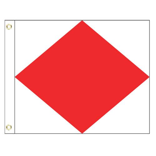 F International Code Signal Flag (Grommet)