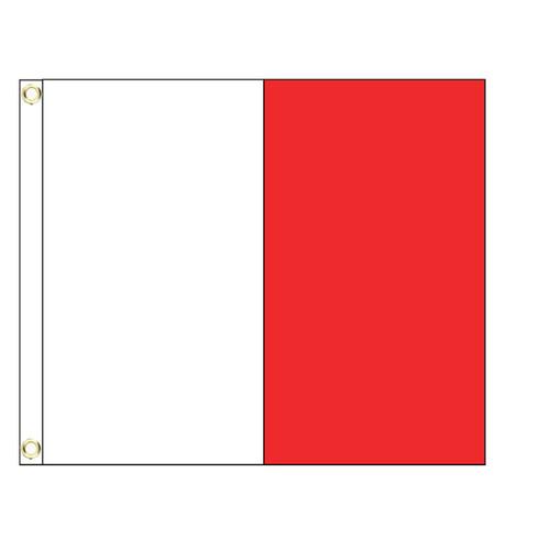 H International Code Signal Flag (Grommet)