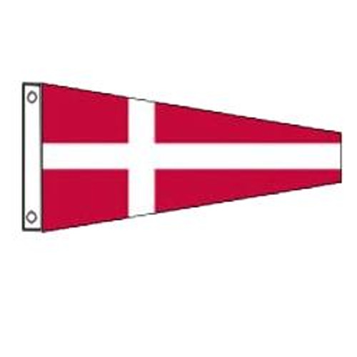 4 International Code Signal Pennant (Grommet)