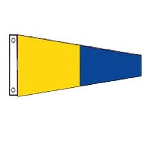 5 International Code Signal Pennant (Grommet)
