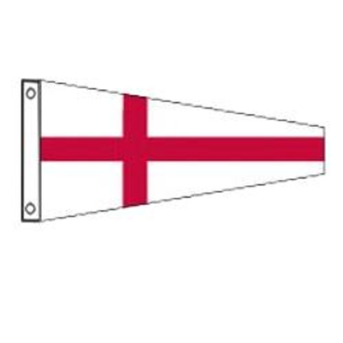 8 International Code Signal Pennant (Grommet)
