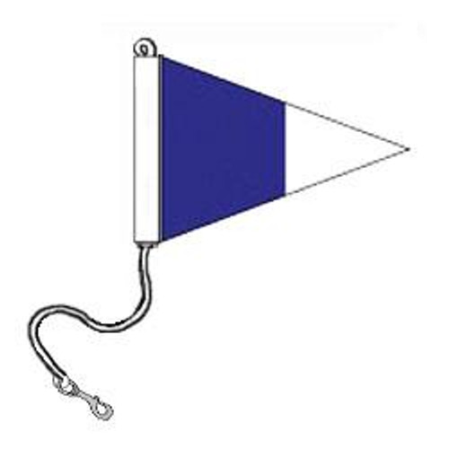 2nd Repeater Pennant (Rope and Snap Hook)