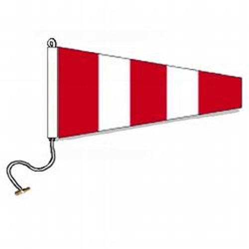 Answering International Code Signal Pennant (Rope and Toggle)