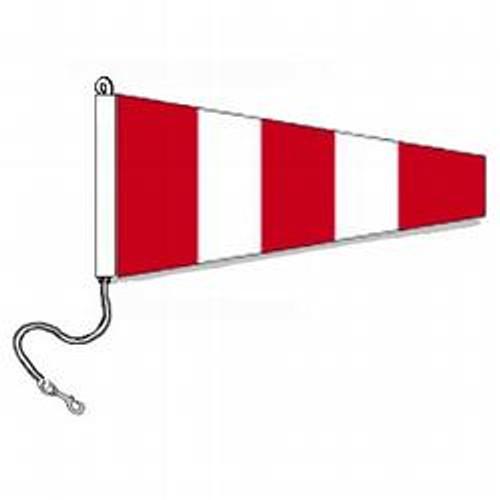 Answering International Code Signal Pennant (Rope and Snap Hook)