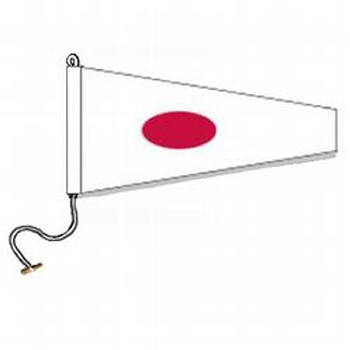 1 International Code Signal Pennant (Rope and Toggle)