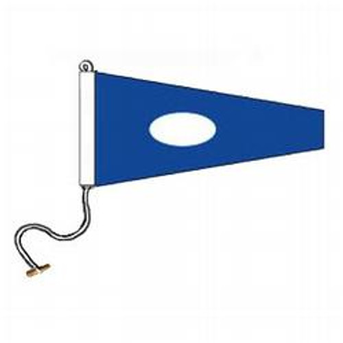 2 International Code Signal Pennant (Rope and Toggle)