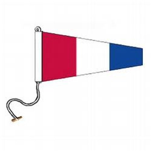 3 International Code Signal Pennant (Rope and Toggle)