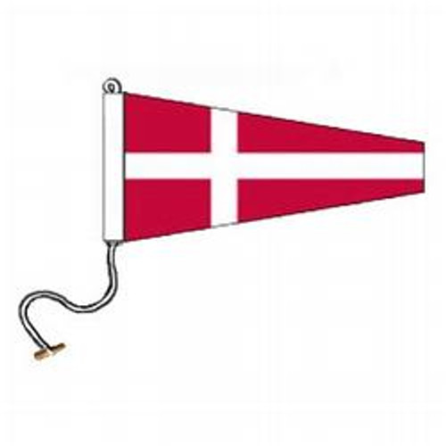 4 International Code Signal Pennant (Rope and Toggle)