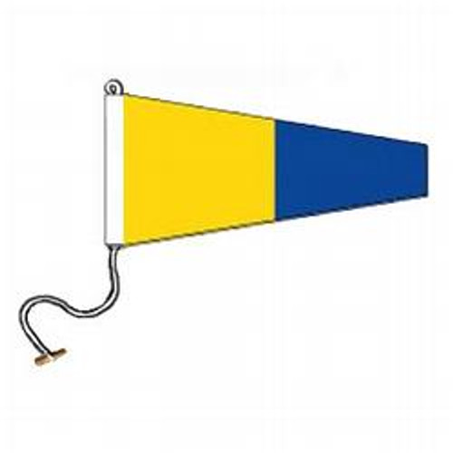 5 International Code Signal Pennant (Rope and Toggle)