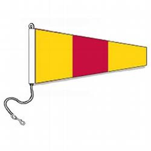 0 International Code Signal Pennants (Rope and Snap Hook)