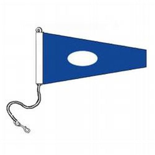 2 International Code Signal Pennants (Rope and Snap Hook)