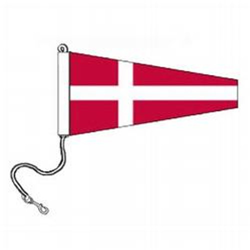 4 International Code Signal Pennants (Rope and Snap Hook)