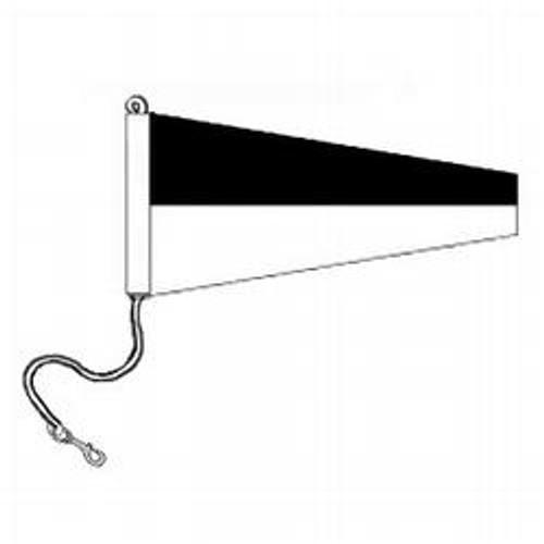 6 International Code Signal Pennants (Rope and Snap Hook)