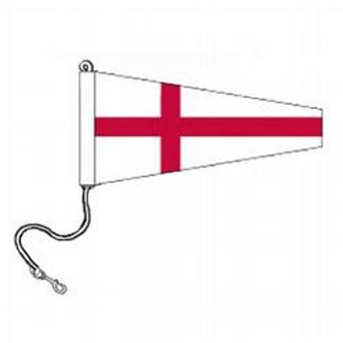8 International Code Signal Pennants (Rope and Snap Hook)