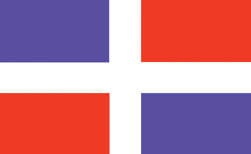 Dominican Republic (no seal) Nautical Flag