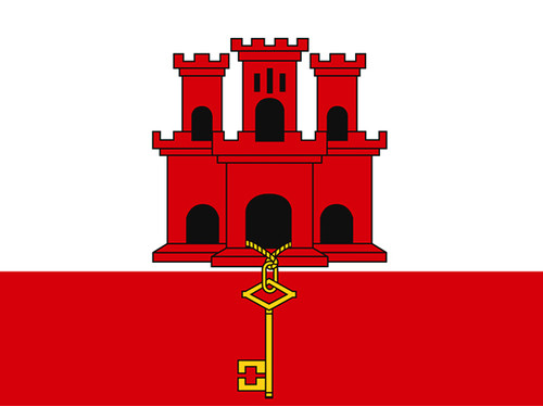 Gibraltar Nautical Flag
