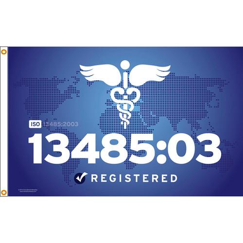ISO 13485/03 Flag