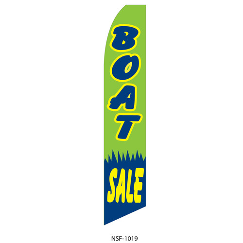 Boat Sale Feather Flag