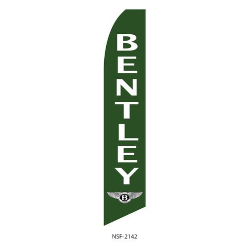 Bentley Dealership Feather Flag green