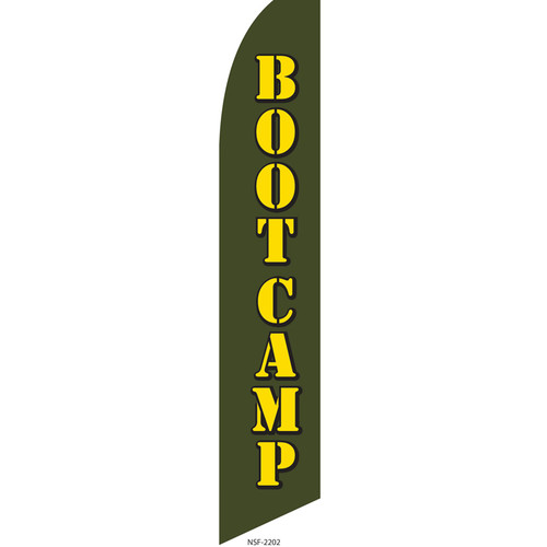 Boot Camp Feather Flag