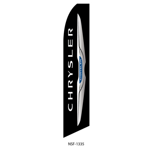 Chrysler Dealership Feather Flag